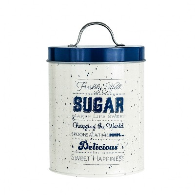 Amici Home Metro Metal Canister, Sugar, 64oz