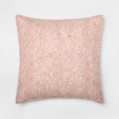 Family Friendly Medallion Pillow Sham - Threshold™