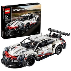 LEGO Technic Porsche 911 RSR Collectible STEM Toy Race Car Building Kit 42096