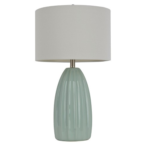 Ceramic Crackle Table Lamp Lamp Only 27 H Blue White Target