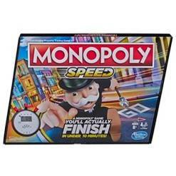 Speed Monopoly Board Game