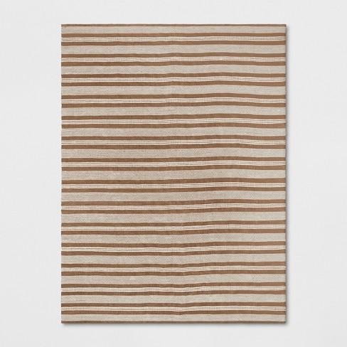 Stripe Woven Rug Natural - Threshold™ - image 1 of 3