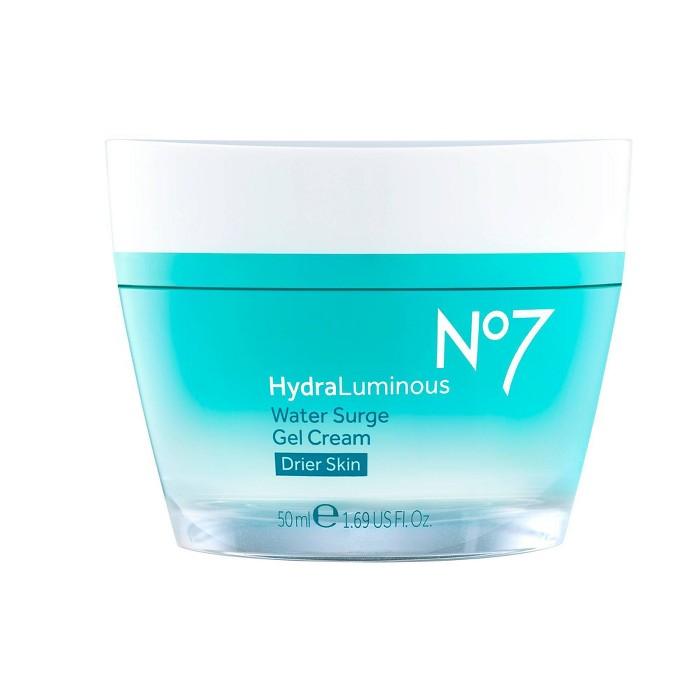 No7 HydraLuminous Water Surge Gel Cream - 1.69 Fl Oz : Target