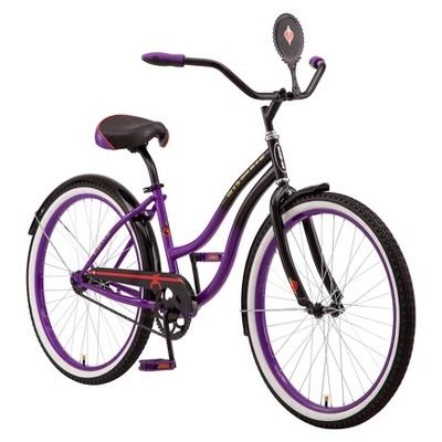 "Disney Women's Evil Queen 26"" Cruiser Bike - Purple/Black"