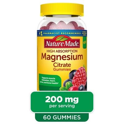 Nature Made Magnesium Citrate Gummies - 60ct