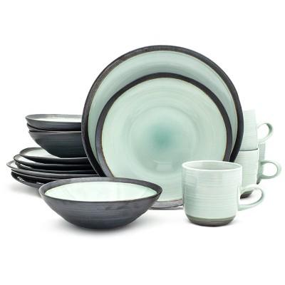 16pc Ceramic Diana Dinnerware Set - Euro Ceramica