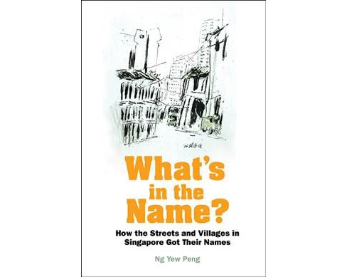 What's in the Name? : How the Streets and Villages in Singapore Got Their Names -  (Hardcover) - image 1 of 1