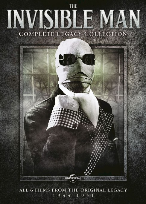 Invisible man:Complete legacy collect (DVD) - image 1 of 1