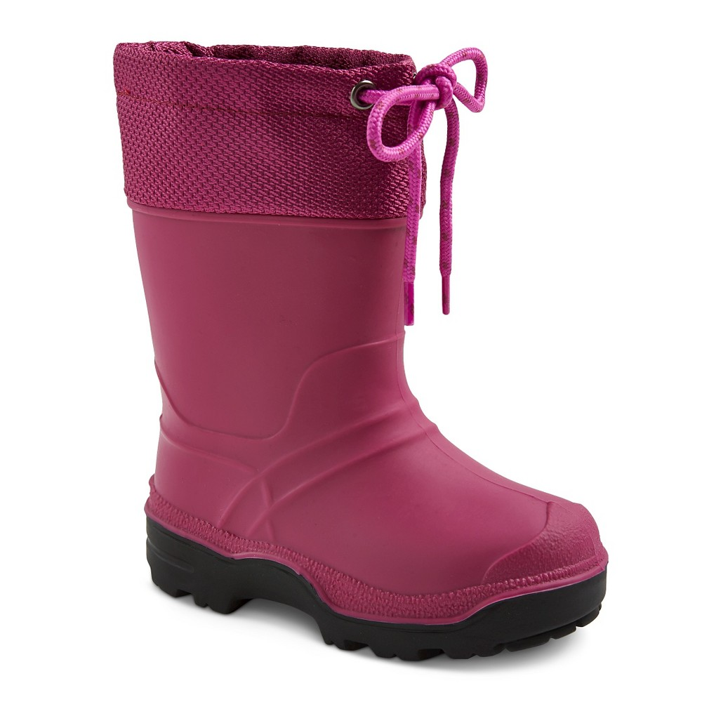 Toddler Girls' SnowMaster Icestorm Waterproof Winter Boots - Berry 8, Pink