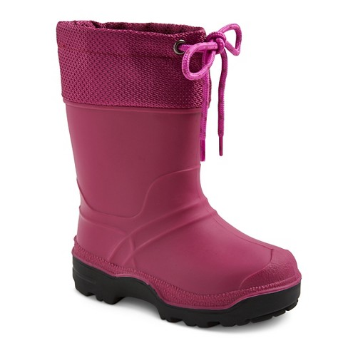 Toddler Girls' SnowMaster Icestorm Waterproof Winter Boots - Berry 9 - image 1 of 3