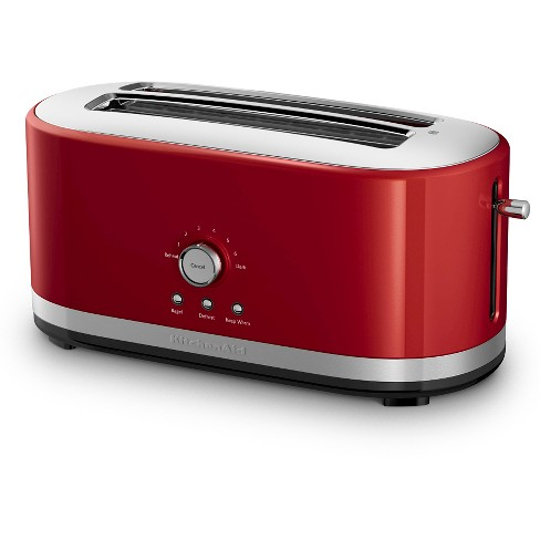 Kitchenaid 4 Slice Long Slot Toaster With High Lift Lever Kmt4116