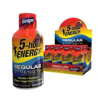 5 Hour Energy Shot - Grape - 12ct