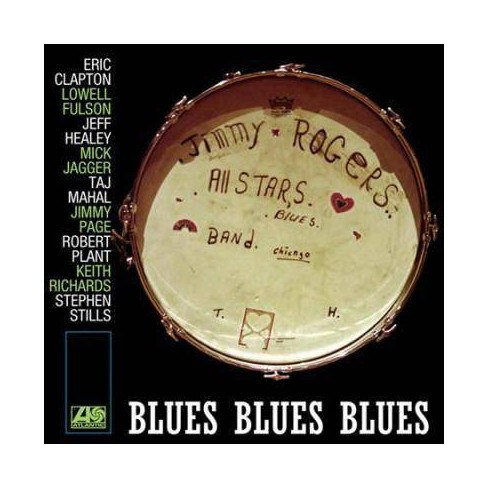 The Jimmy Rogers All Stars - Blues Blues Blues (Vinyl) - image 1 of 1