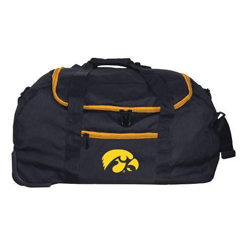 NCAA Iowa Hawkeyes Travel Duffel Bag - image 1 of 4