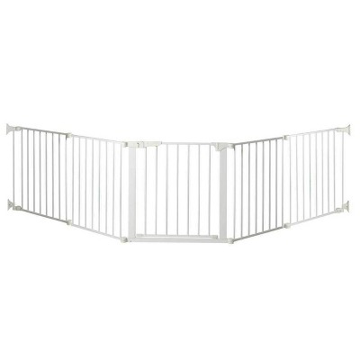 "KidCo Auto Close Configure Baby Gate with two 24"" Extensions (Total width up to 128"")"