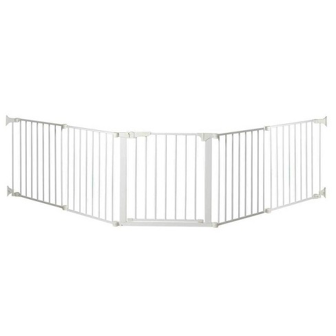 "KidCo Auto Close Configure Baby Gate with two 24"" Extensions (Total width up to 128"") - image 1 of 4"
