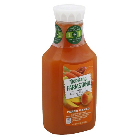 Tropicana Farmstand Peach Mango 46 oz - image 1 of 1