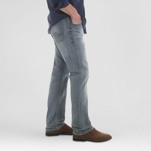 d8d93595 Wrangler® Men's Straight Fit Jeans With Flex - Bleach 34X34 : Target
