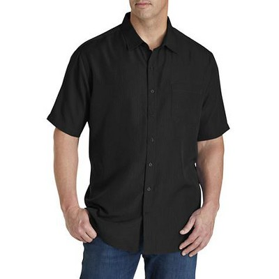 Harbor Bay Microfiber Comfort Grid Sport Shirt - Men's Big and Tall