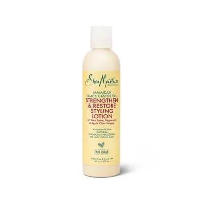 SheaMoisture Styling Lotion for Damaged Natural Hair Jamaican Black Castor Oil - 8 fl oz