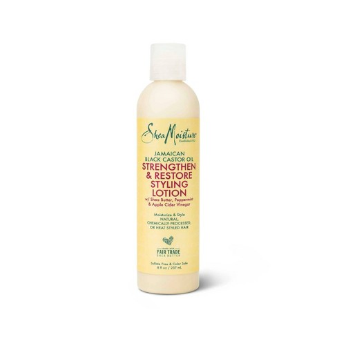 SheaMoisture Styling Lotion for Damaged Natural Hair Jamaican Black Castor Oil - 8 fl oz - image 1 of 4