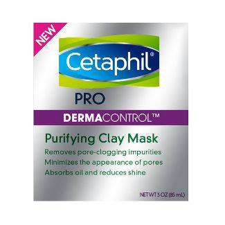 Cetaphil Pro Derma Control Purifying Clay Mask - 3oz