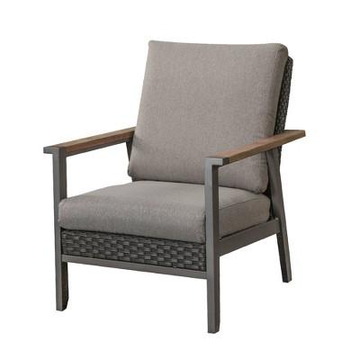 Wicker Rattan Patio Chair - Patio Festival