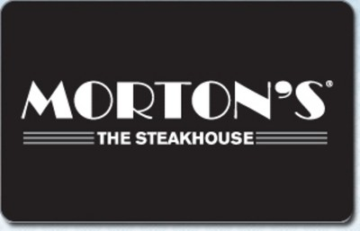 Morton's The Steakhouse $50 (Email Delivery)