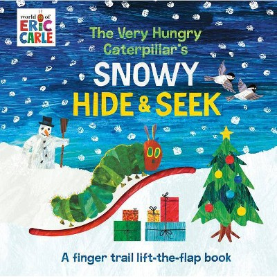 The Very Hungry Caterpillar's Snowy Hide & Seek - (World of Eric Carle) by Eric Carle (Board Book)