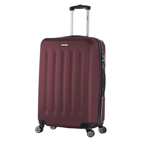 "InUSA Philadelphia 27"" Hardside Spinner Suitcase - Wine - image 1 of 4"