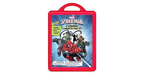 Spider-Man : An Amazing Book & Magnetic Play Set (Paperback) - image 1 of 1