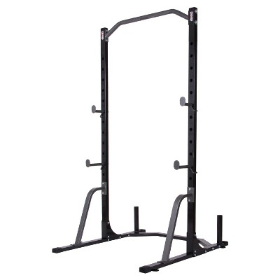 Body Champ Power Rack System with Olympic Weight Plate Storage