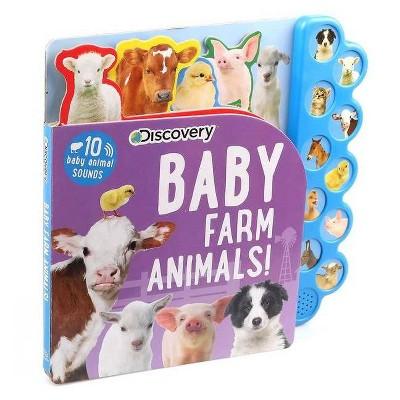Discovery: Baby Farm Animals! - (10-Button Sound Books)by Thea Feldman (Board Book)