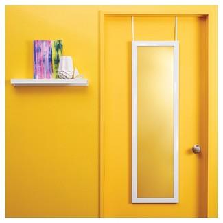 Over-the-Door Mirror White - Room Essentials™