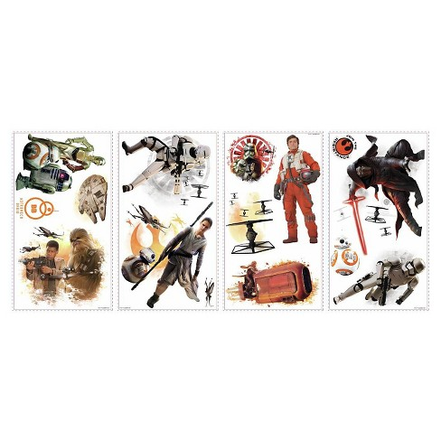 Star Wars Episode 7 Wall Decals - image 1 of 2