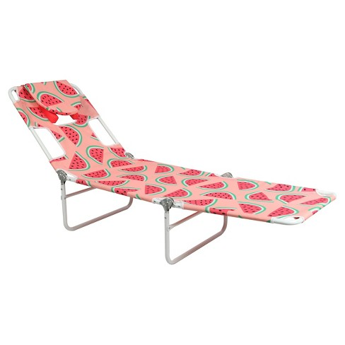 Facedown Beach Lounger - Patterned - image 1 of 3