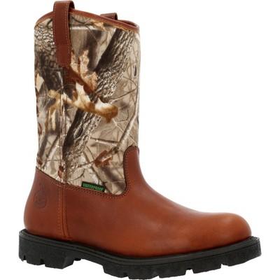 Men's Georgia Boot® Homeland Waterproof Wellington Camo Work Boot