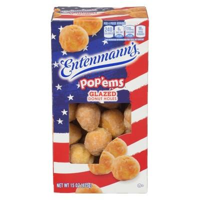 Entenmann's Glazed Pop'ems - 16oz