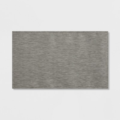 "34""x20"" Textilene Kitchen Rug Light Gray - Project 62™"
