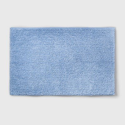 Perfectly Soft Solid Bath Mat Placid Blue - Opalhouse™