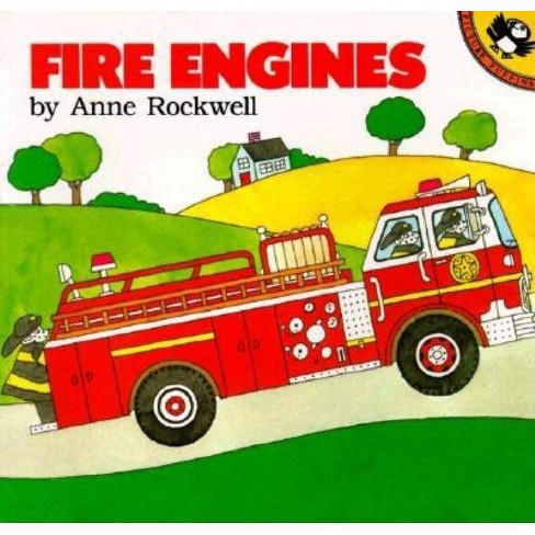 Fire Engines - (Picture Puffin Books) by  Anne Rockwell (Paperback) - image 1 of 1
