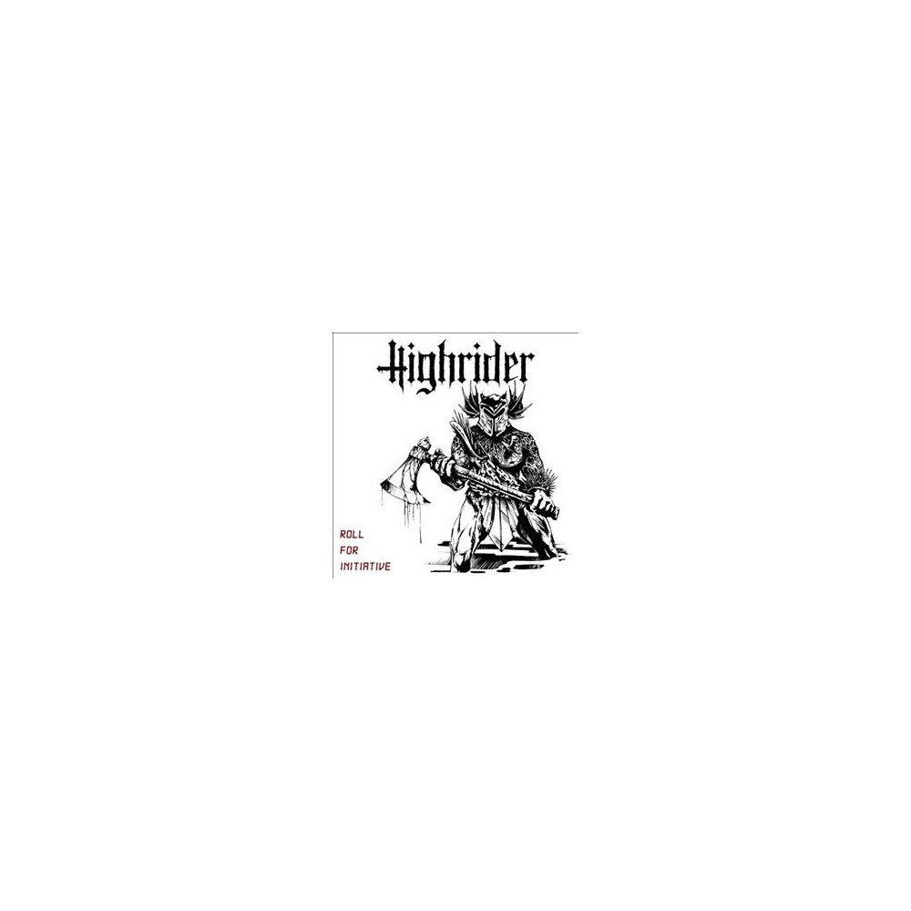 Highrider - Roll For Initiative (CD)