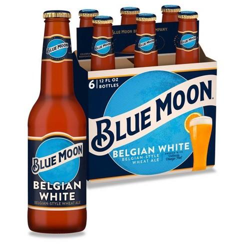 Blue Moon Belgian White Wheat Ale Beer - 6pk/12 fl oz Bottles - image 1 of 4