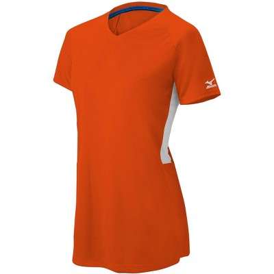Mizuno Mizuno Womens Comp Short Sleeve V-Neck Shirt