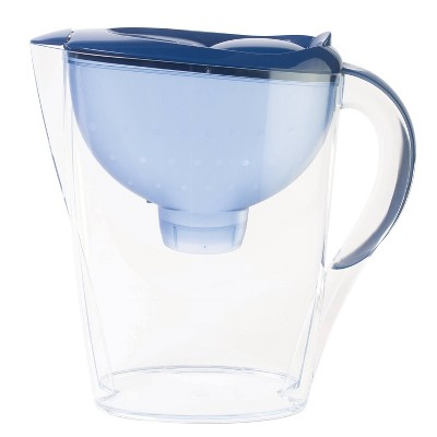 Water Filtration Pitcher Navy 7 cup Capacity - Up&Up™
