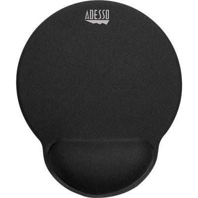 "Adesso TRUFORM P200 - Memory Foam Mouse Pad with Wrist Rest - 0.9"" x 9.7"" x 7.7"" Dimension - Black"