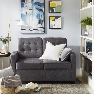 Cozy Guest Sleeper Sofa In Library Space Collection : Target