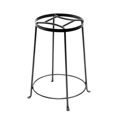 Indoor Outdoor Diamond Shaped Argyle Plant Stand Roman Bronze Powder Coat Finish - Achla Designs