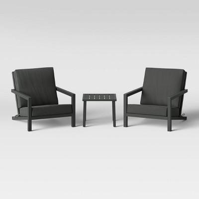 Asti Adirondack Patio Chat Set - Gray - Project 62™