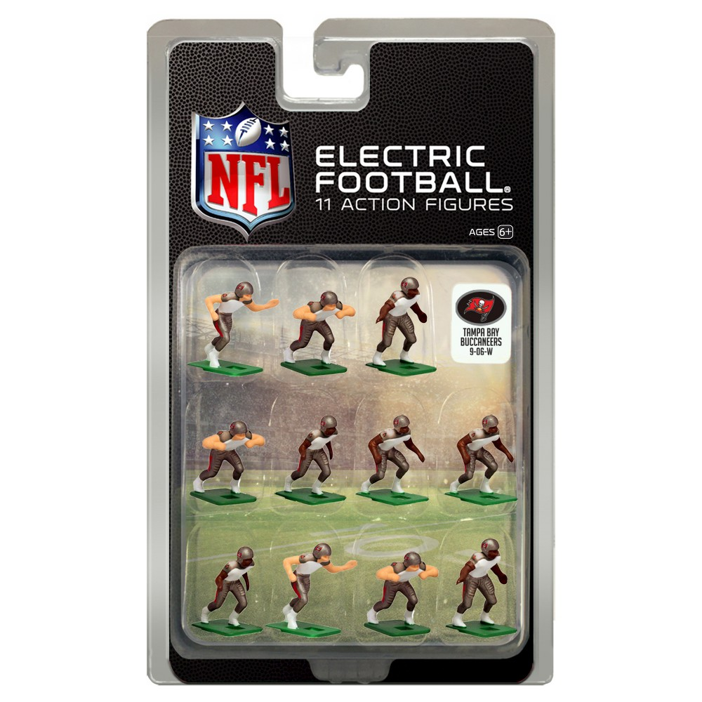 NFL Tampa Bay Buccaneers Tudor Games Away Uniform Electric Football Action Figure Set